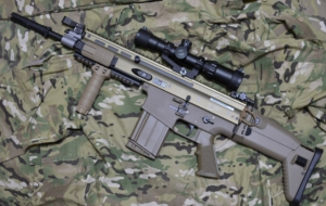 FN SCAR Rifle Wallpaper