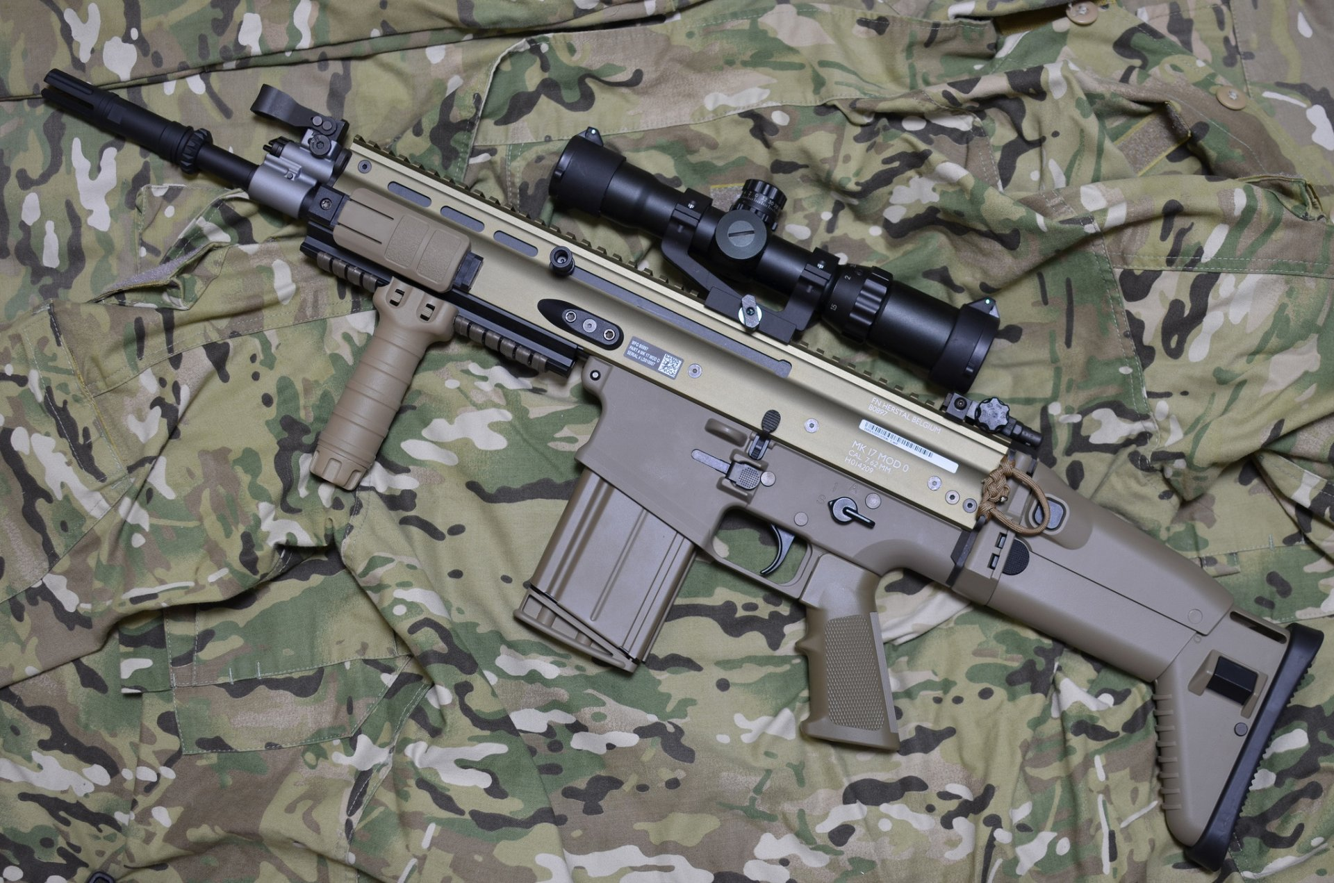 Fn Scar Rifle Hd Wallpapers