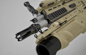 FN SCAR Rifle For Desktop