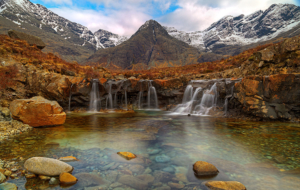 Fairy Pools, Isle Of Skye High Definition