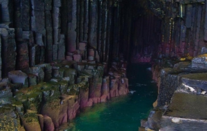 Fingals Cave Background