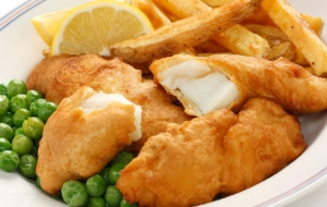 Fish N Chips HD Background