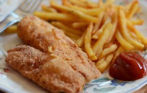 Fish N Chips HD Wallpaper