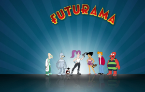 Futurama HD Desktop