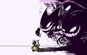 Gengar Computer Wallpaper
