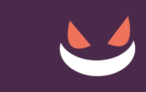 Gengar HD Background