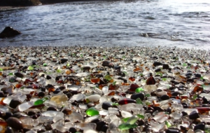 Glass Beach HD Wallpaper