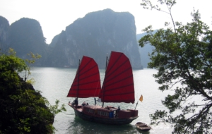Ha Long Bay Background