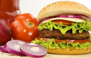 Hamburger HD Background