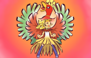 Ho Oh HD Wallpaper