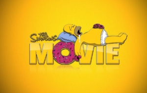 Homer Simpson HD Background