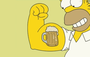 Homer Simpson HD Wallpaper