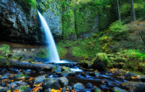Horsetail Falls High Definition Wallpapers