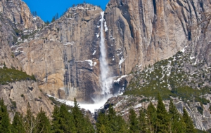 Horsetail Falls Widescreen