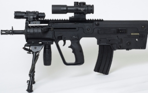 IWI TAR 21 Rifle Background
