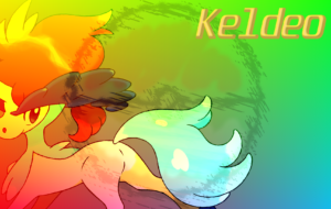 Keldeo Computer Wallpaper