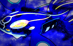 Kyogre HD Wallpaper