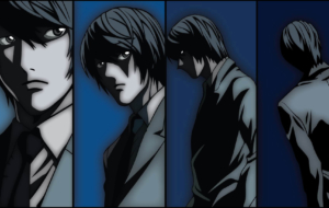 Light Yagami HD Background