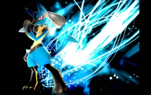 Lucario Background
