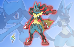 Lucario Computer Wallpaper