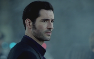 Lucifer TV Series HD Background