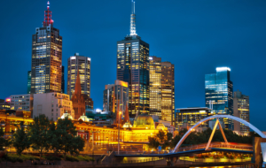 Melbourne HD Background