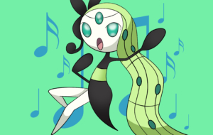 Meloetta Background