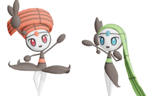 Meloetta Computer Wallpaper