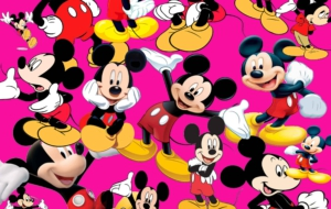 Mickey Mouse Background