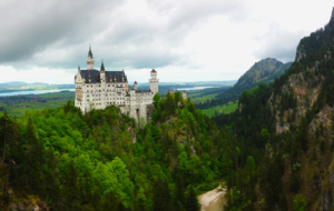 Neuschwanstein Castle Background