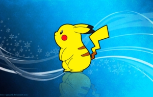 Pikachu Widescreen