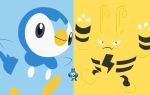 Piplup Background