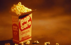 Popcorn HD Background