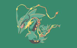 Rayquaza High Definition