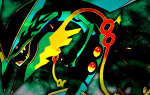 Rayquaza High Definition Wallpapers