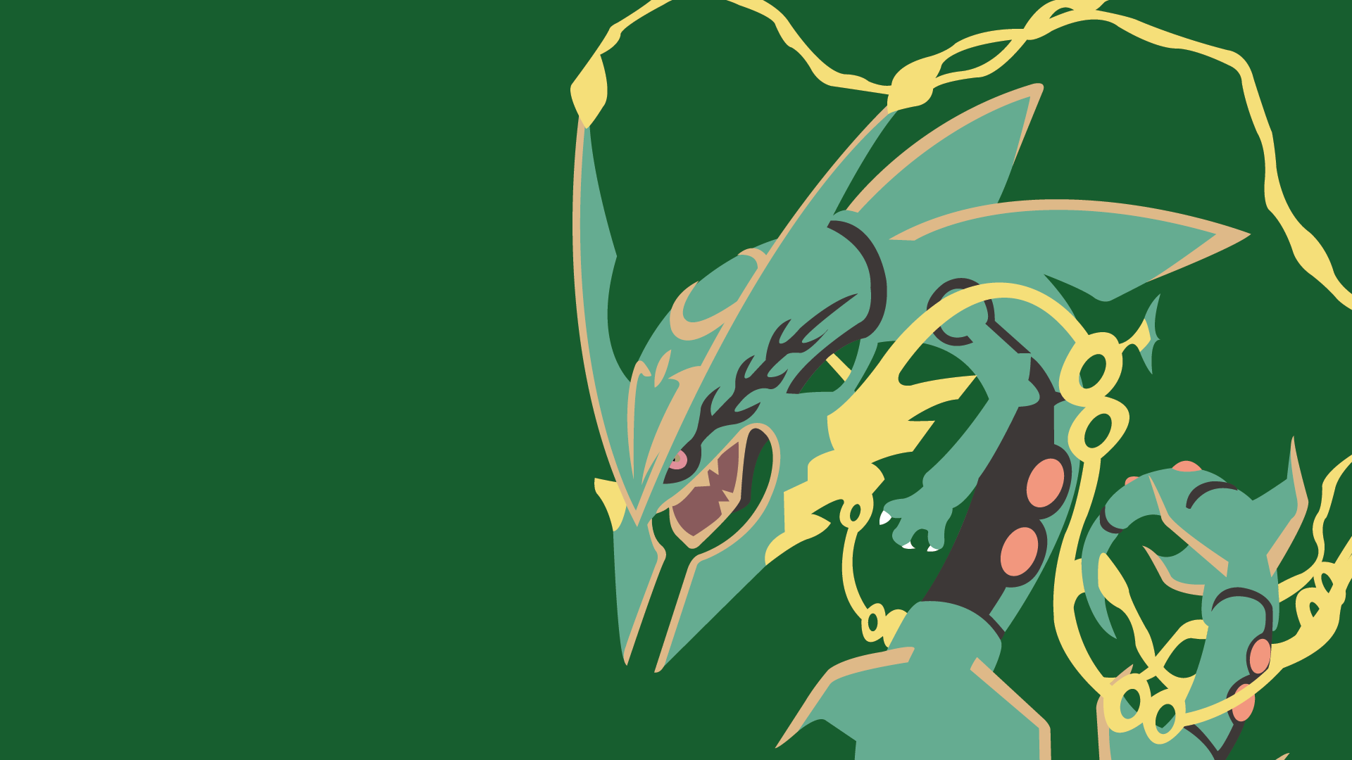 emerald rayquaza wallpapers - photo #26