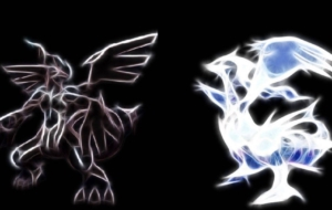 Reshiram HD Background