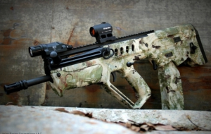 SAR 21 Rifle Background