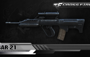SAR 21 Rifle Widescreen