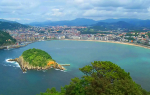San Sebastian Background
