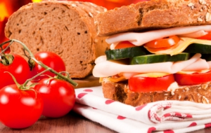 Sandwiches Background