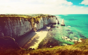 Sea Cliffs, Etretat HD Wallpaper