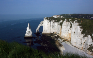 Sea Cliffs, Etretat Full HD