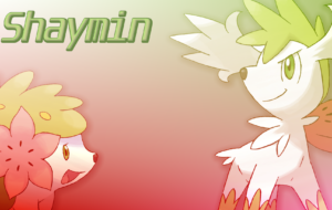 Shaymin Background