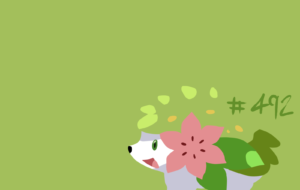 Shaymin High Quality Wallpapers