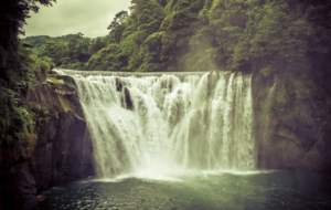 Shifen Waterfall HD Wallpaper