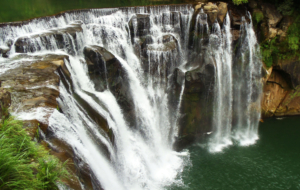 Shifen Waterfall Images
