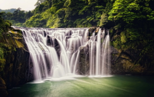 Shifen Waterfall Photos