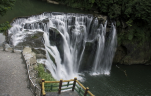 Shifen Waterfall Wallpapers