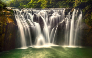 Shifen Waterfall Wallpapers HD